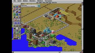 Playing SimCity 2000 on DOS