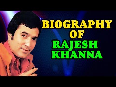 Life Journey of First Superstar of Indian Cinema : Rajesh Khanna   Biography - मराठी