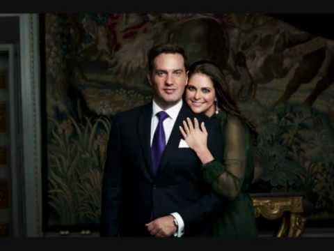 Royal Engagement 2012 between Princess Madeleine and Mr Christopher O´Neill
