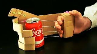 Como Hacer una Mano Robotica en tu Casa con Carton   Inventos Caseros
