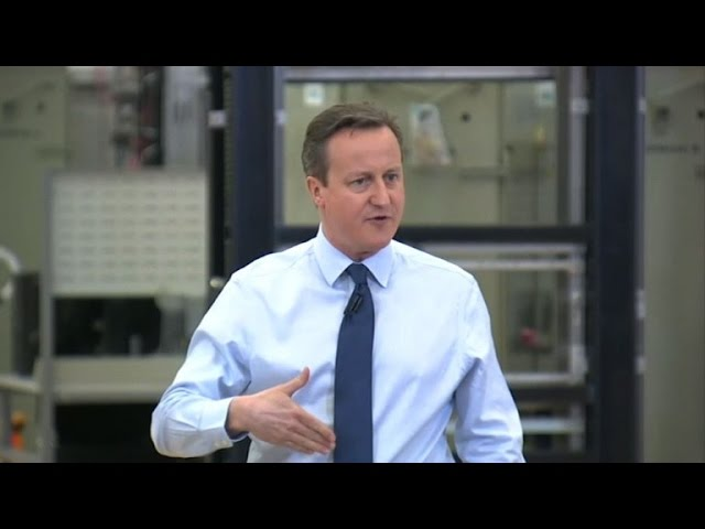 UK's Cameron hails progress in EU draft deal