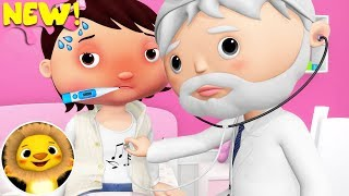 Taking Medicine Song | Nursery Rhymes & Kids Songs! | Videos For Kids | Little Baby Animals