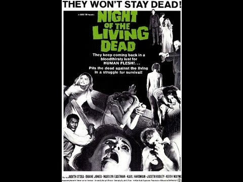 LA NOCHE DE LOS MUERTOS VIVIENTES (NIGHT OF THE LIVING DEAD, 1968, Full movie, Spanish, Cinetel)