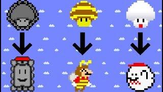 Mario Power Ups Calamity