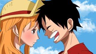 Luffy y Nami ¿Serán Pareja?