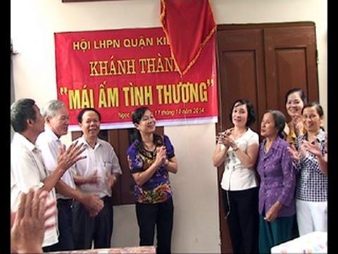 Khánh thành nhà mái ấm tình thương cho hội viên PN nghèo ở phường Ngọc Sơn