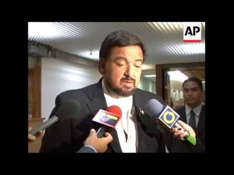 Governor meets Chavez on US hostages in Colombia
