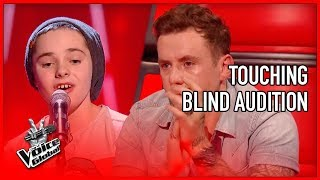 Coach In Tears By Touching Blind Audition In The Voice Stories 5