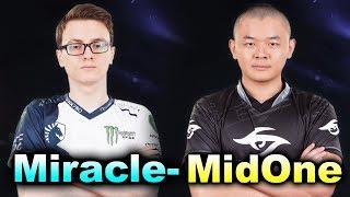 Miracle- vs MidOne - 1v1 SOLO + SumaiL - DAC 2018 DOTA 2