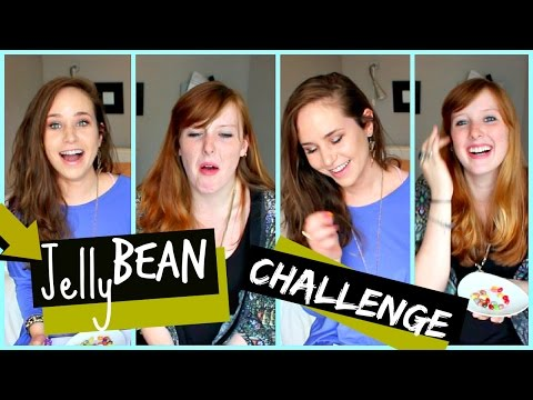 Jelly Bean Challenge: Harry Potter Jelly Beans (kinda Like Bean Boozled But Not) video