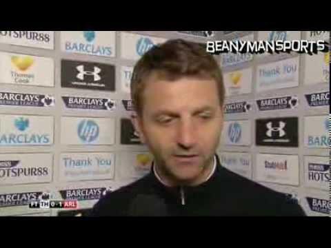 Tim Sherwood, Arsenal fan or Tottenham fan?