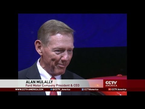 Interview with Ford CEO Alan Mulally at 2014 Beijing Auto Show