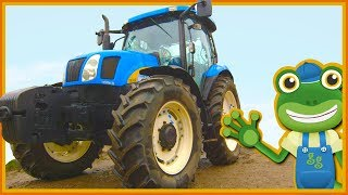 Tractors For Kids   Gecko's Real Vehicles