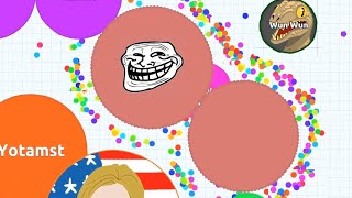 Agar.io - Funny Moments & Trolling
