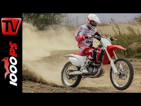 Honda CRF 450R und 250R - Test, Action, Details & Interview