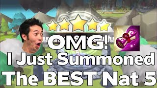 Summoners War - I SUMMONED THE BEST NAT 5 IN SUMMONERS WAR - Double Nat 5 Mass Summoning Session