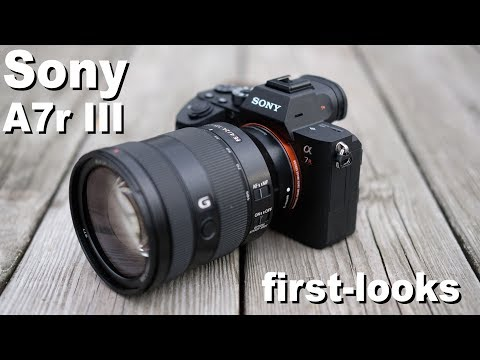 Sony A7r III review -  first looks
