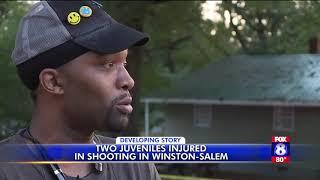 2 juveniles shot in Winston-Salem