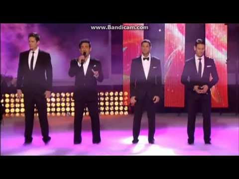 Il Divo my Heart Will Go On 24-12-2012 video