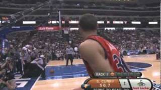Stephen Curry 2010 (Rookie) 3-Point Shootout Highlights Golden State Warriors mix