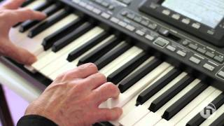 TC-Helicon vocal effects in the Korg PA3X