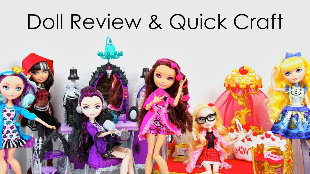 Doll Review Ever After High Getting Fairest Cerise