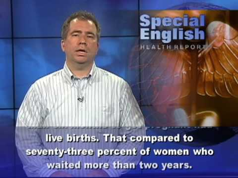 4:01. Delay Pregnancy After a Miscarriage? This is the VOA Special English ...