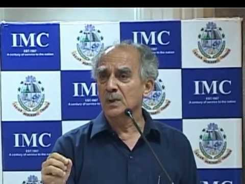 Arun Shourie at IMC