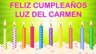 Luz del Carmen   Wishes & Mensajes - Happy Birthday