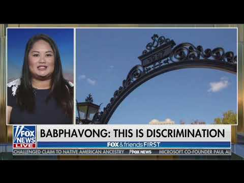 Harvard Under Fire For Race Based Admissions: Kelley Babphavong On Fox News