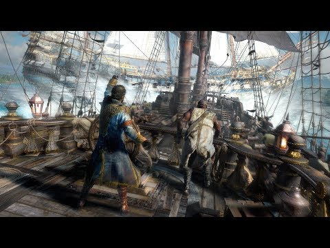 SKULL & BONES Gameplay Reveal Demo Walktrough (E3 2018)