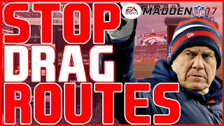 Madden 17: Beginner Tips - How To Stop Drag Routes! | Defensive Tips/Breakdowns