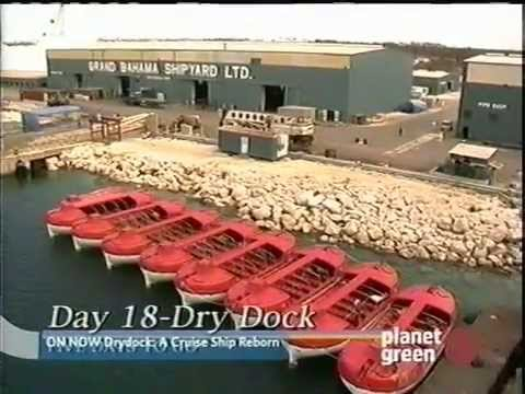 Dry Dock: A Cruise Ship Reborn (Part 4)