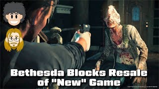 "Bethesda Blocks Resale of a ""New"" Game on Amazon - #CUPodcast"