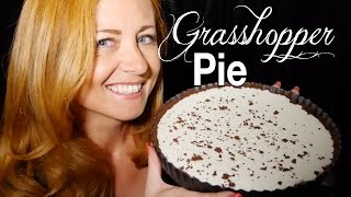 Grasshopper Pie! Pienaural Baking Good ASMR | Close Up Soft Sounds