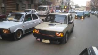 Egyption Stance fiat 127 - Mansoura