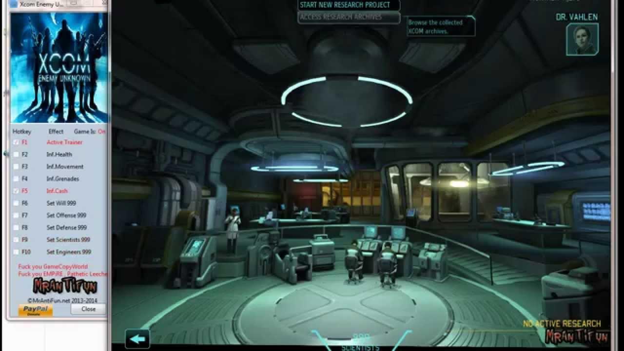 Xcom: enemy within v 10 nodvd