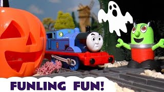 Funny Funlings Spooky Halloween Prank on Rascal Funling with Thomas and Friends