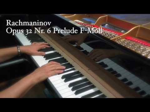 Ernestyne Corty Rachmaninov  Opus 32 Nr. 6 Prelude F-Moll