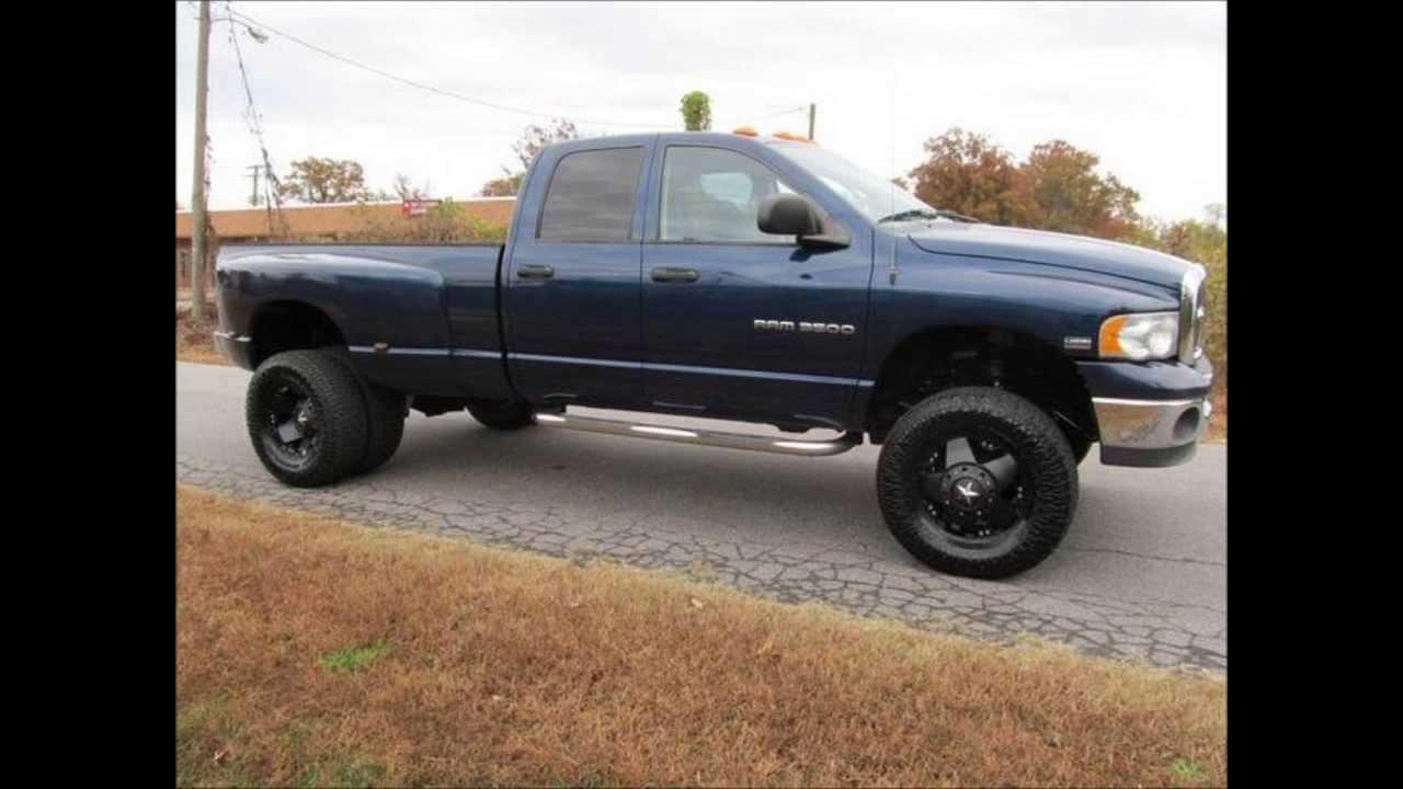 2003 Dodge Ram 3500 Slt Dually Lifted Truck Youtube