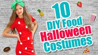 10 Food-Inspired DIY Halloween Costume Ideas | Kamri Noel