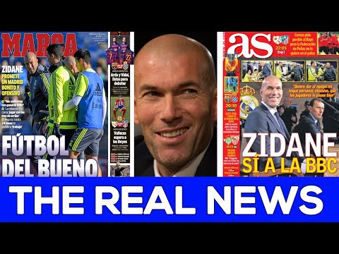 Bale, Benzema and Cristiano? Yes please! | Zidane's Real Madrid | REAL NEWS