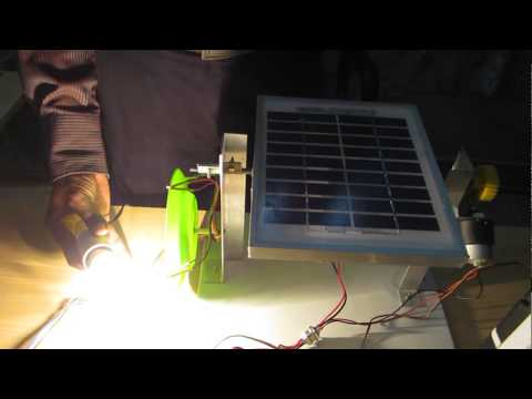 SOLAR TRACKING SYSTEMS USING LDR(LIGHT INTENSITY)-EMBEDDED SYSTEMS PROJECTS