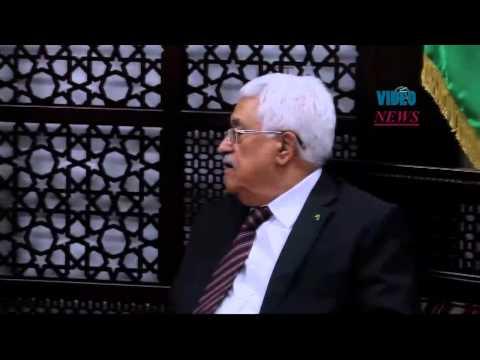 Turkey's head of religious affairs meets Mahmoud Abbas in Ramallah