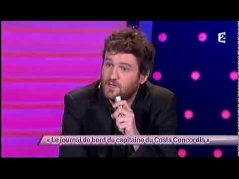 Olivier De Benoist [64] Le journal de bord du capitaine du Costa Concordia #ONDAR