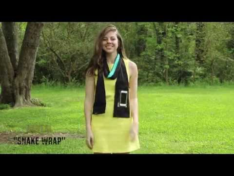 6 Ways to Wear Light-Knit PEEPSNAKE Scarf