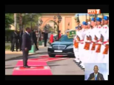 Maroc: rencontre entre le Président Alassane Ouattara et le roi du Maroc Mohamed VI