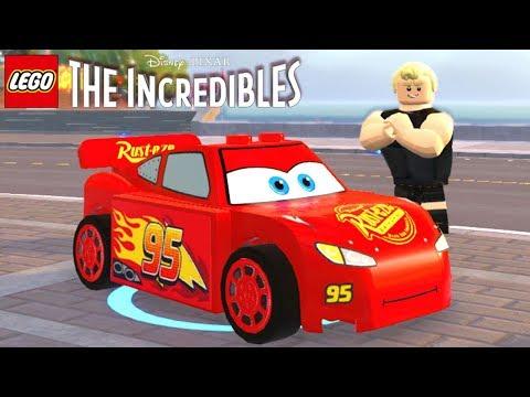 LEGO Os Incríveis #17 RELÂMPAGO MCQUEEN QUEBRANDO BLOQUEIOS Dublado em Português