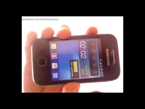 SAMSUNG GALAXY YOUNG DUOS S6312 HARD RESET