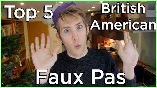 Top 5 Mistakes Americans Make in England!   Evan Edinger